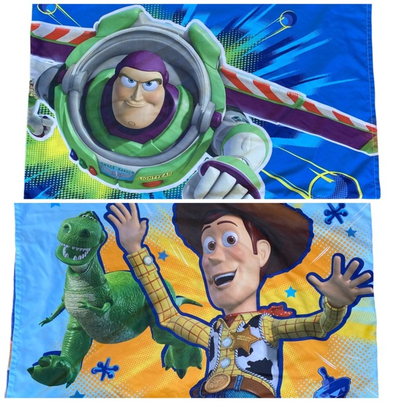 Disney Toy Story Buzz & Woody Pillowcase